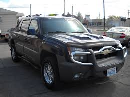 Details for Chevrolet Avalanche 4wd