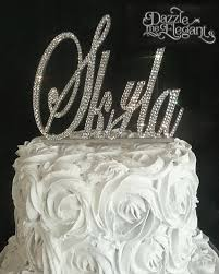 Name Cake Toppers Custom