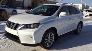 lexus 2015 rx 450h. white 2015 lexus rx 450h awd sportdesign edition executive demo review stony plain alberta youtube rx