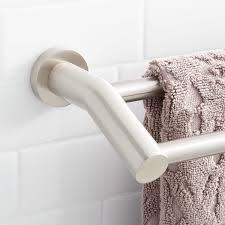 modern double towel bar. Ceeley Double Towel Bar Modern