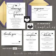 Diy Invitation Template Diy Wedding Invitations Templates Printable Invitation You