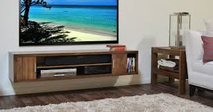 stands for under wall mounted tv. Delighful Wall Brown Wooden Floating Tv Stand With Doors And Racks On White Wall Theme Stands For Under Mounted S