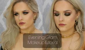 evening glam makeup tutorial jordan bone