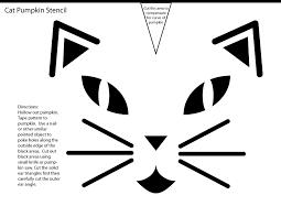 04 cat pumpkin stencil 22 cat pumpkin patterns and crafts for a fiendish halloween band on scary pumpkin stencils free printable