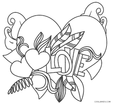 Our printable coloring pages are free and classified by theme, simply choose and print your drawing to color for hours! Free Printable Love Coloring Pages For Kids