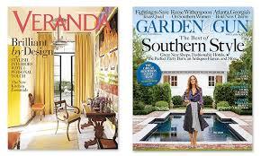 garden and gun magazine. Veranda Magazine Or Garden \u0026 Gun Magazine: One-Year Subscription To And T