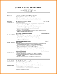 9 Basic Resume Templates Word Letter Adress