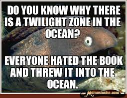 do you know why there is a twilight zone in the ocean? - Memestache via Relatably.com