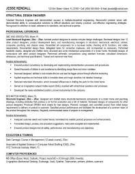 Structural engineer resume to inspire you how to create a good resume 11