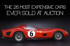 most expensive car ever sold. 25 most expensive cars ever sold at auction car