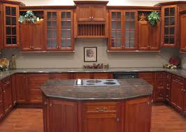 Small Picture kitchen makeover reveal white marble kitchen cherry cabinets
