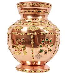 Small Picture IndianArtVilla 100 X 58 Handmade 100 Pure Copper Designer