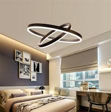 dutti d0038 led chandelier modern minimalist led restaurant chandelier round nordic living room creative personality bedroom