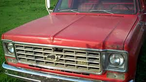 Cold Start 1975 Chevy C30 Dump Truck - YouTube