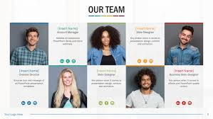 powerpoint biography team biography slides for powerpoint presentation templates slidestore