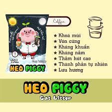 Cát vệ sinh mèo Heo Piggy cao cấp 12L   Shopee Việt Nam