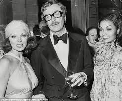 young michael caine wife. Contemporary Michael Longtime Pals Joan Collins Actor Michael Caine And His Wife Shakira At And Young Wife A