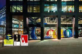 google office dublin. google campus workplace concept dublin office u