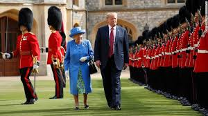 Bildresultat för trump the queen