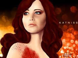 katniss everdeen by olyamolya