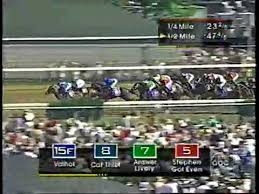 Kentucky Derby 1999 Results Charismatic