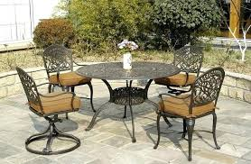 60 Round Patio Table Grand By Luxury Cast Aluminum Patio Furniture