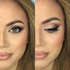 how to easily turn your day makeup into evening makeup