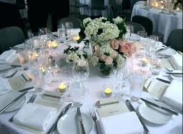 Round Table Settings For Weddings Round Table Centerpieces Hapm Info