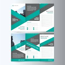 Green Brochure Template Brochure Template Tri Fold Boutique Product A Brochures Free