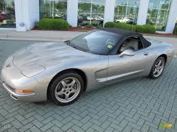 Corvette chevy corvette 1999 : 1999 Light Pewter Metallic Chevrolet Corvette Convertible ...