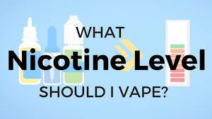 Vape Juice Nicotine Chart How To Choose Nicotine Strength Quick Guide