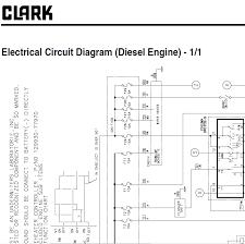 Clark Forklift Wiring Schematic Clark Forklift Parts Catalogue