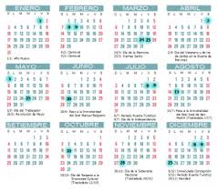 Calendario 2015 Peru Con Feriados Para Imprimir