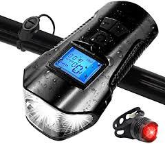 Bike Light Set, Speedometer LED Bicycle Light with ... - Amazon.com