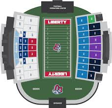 Liberty Williams Stadium Seating Chart Download Clipart On