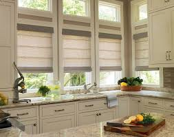 Designer Kitchen Blinds Best Levolor Roman Shades Levolor Classic Roman Shade Blinds