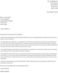 Correctional Officer Cover Letter Sample Resume Cover