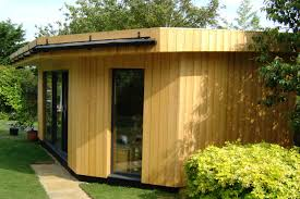 timber garden office. Completed 2014 Timber Garden Office O