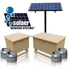 "solar powered aeration systems solar aeration keeton industries solaerâ""¢ systems solar aeration"