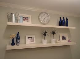 ... Decorative Wall Shelves Ikea Floating Furniture Square White Stayed Rack  Thin Strong Wooden Material Modern Design ...