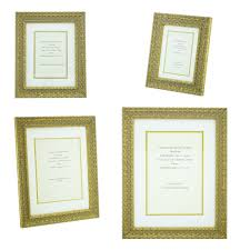 details about ornate gold shabby chic vintage picture frame white gold mount 6x4 12x8 photo