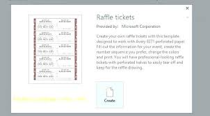 Event Ticket Template Word Free Event Ticket Templates For Word Numbered Event Ticket