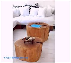 stump side table best of diy two tree trunk coffee on living room bining with tree stump coffee table o29