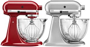 kitchenaid 5 quart artisan stand mixer. if you love to cook, need this kitchen-aid stand mixer in your kitchen! the large glass bowl is big enough mix up dough for 6 dozen cookies or 3 kitchenaid 5 quart artisan