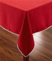 holiday french faux linen tablecloths 90 inch round tablecloth clearance home table linens accessories