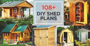 Small Picture 108 DIY Shed Plans with Detailed Step by Step Tutorials Free