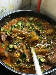 Seafood okro or Regular Okro soup ...
