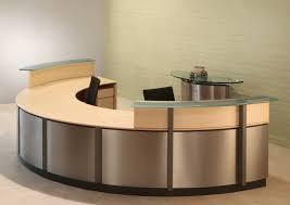 semi circle reception desk reception desks stoneline designs regarding amazing residence semi circle desk prepare