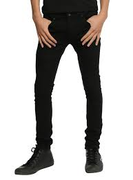XXX RUDE Black Stinger Jeans Hot Topic