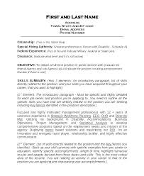 Military Civilian Resume Builder Military Transition Resume Examples